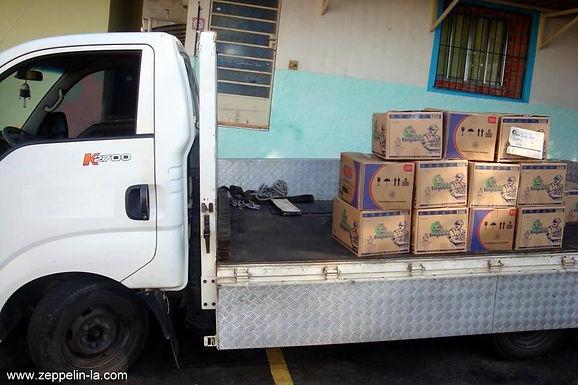 Zeppelin System Latin America doa cestas básicas para entidades carentes