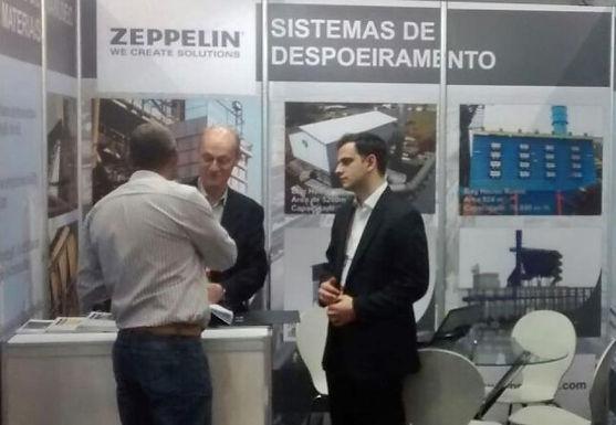 Zeppelin Systems marca presença na Exposibram 2017