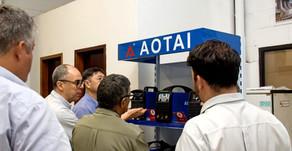 Conheça o primeiro Service Center da AOTAI na América Latina