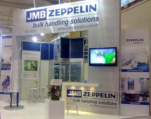 Zeppelin Systems confirma sucesso na participação d feira Interplast 2010 realizada em Joinville