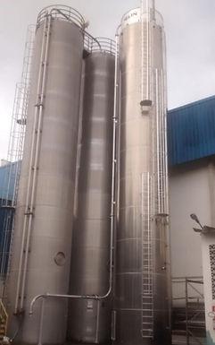Kautex amplia capacidade de estoque de matéria prima adquirindo mais um silo Zeppelin para a sua fábrica em Guararema - SP