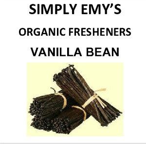 Simply Emy Organic Freshener- Vanilla Bean 3pk