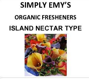 Simply Emy Organic Freshener-Island Nectar, 3pk