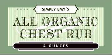 Simply Emy's Organic Chest Rub