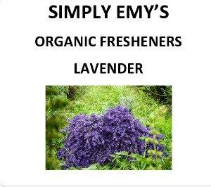 Simply Emy Organic Freshener-Lavender  3pk