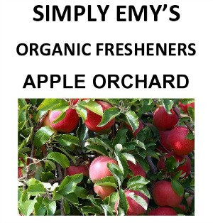 Simply Emy Organic Freshener-Apple Orchard