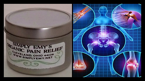 Organic Pain Relief Salve - 4 oz Tin