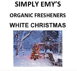 Simply Emy Organic Freshener-White Christmas, 3pk