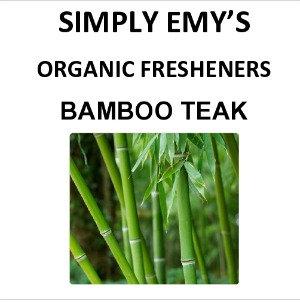 Simply Emy Organic Freshener- Bamboo Teak, 3pk