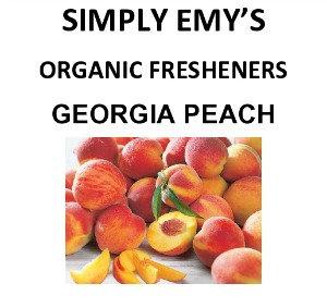 Simply Emy Organic Freshener-Georgia Peach, 3pk