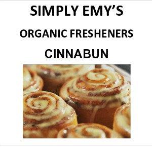 Simply Emy Organic Freshener-Cinnabun, 3pk