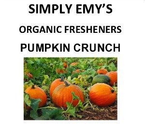 Simply Organic Freshener-Pumpkin Crunch, 3pk