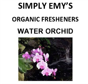 Simply Emy Organic Freshener-Water Orchid, 3pk
