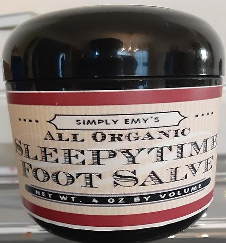 Organic Sleepytime Foot Salve