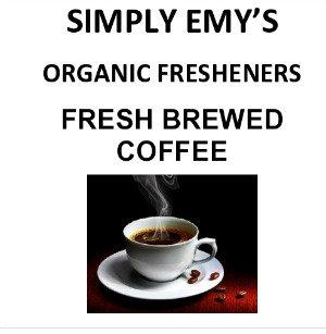 Simply Emy Organic Freshener-Fresh Brewed, 3pk