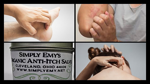 Simply Emy's  Organic Anti-Itch Salve