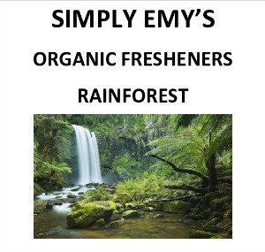 Simply Emy's Organic Fresheners-Rainforest, 3pk