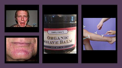 Simply Emy's Organic Aftershave Balm