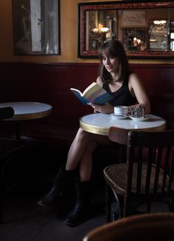 Eliza reading