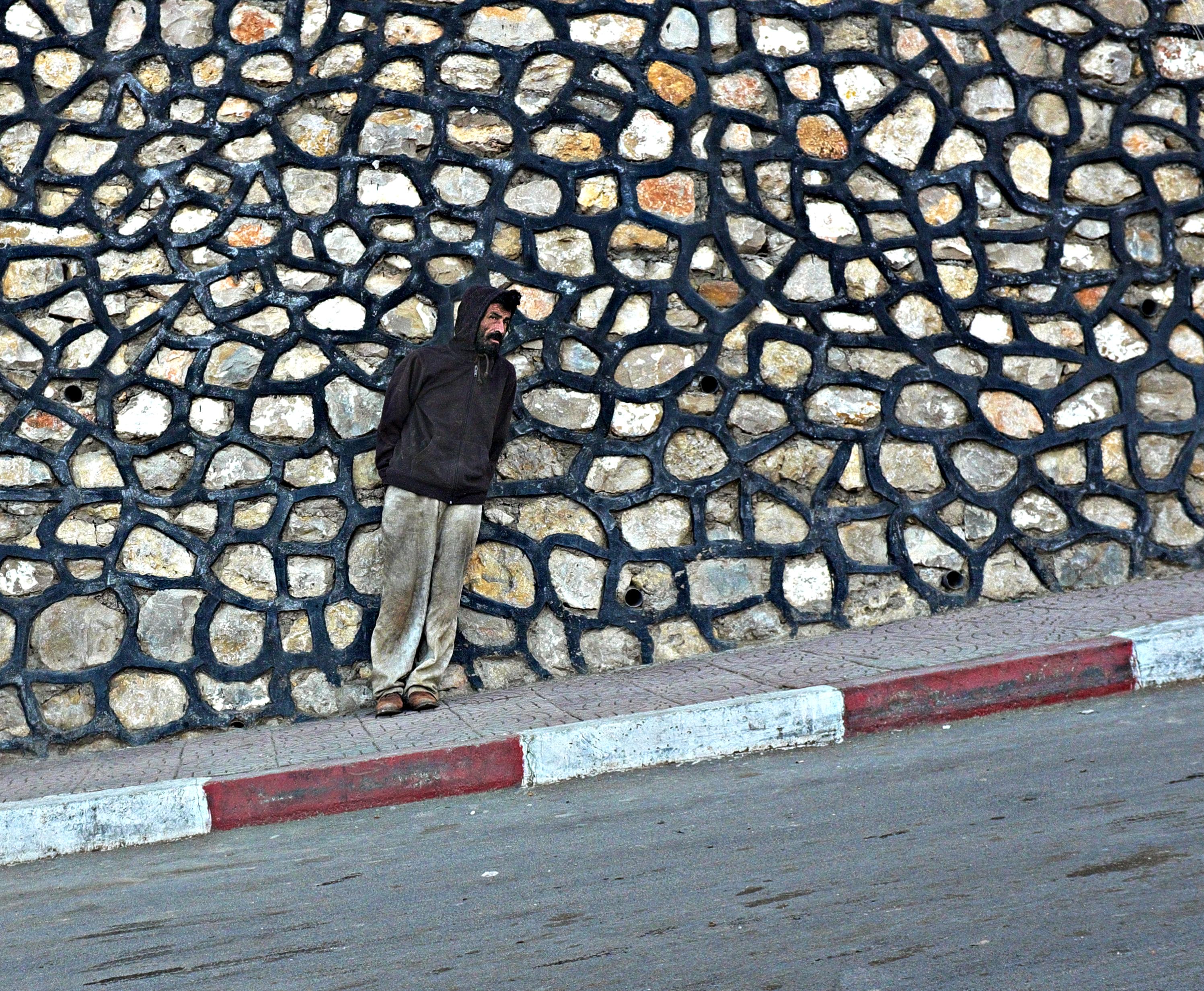 Man standing