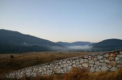 Morning wall