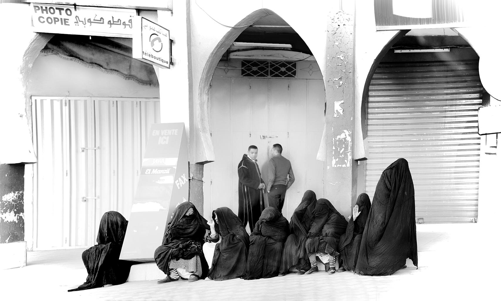 Photographed women