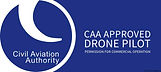 CAA approved drone pilot badge