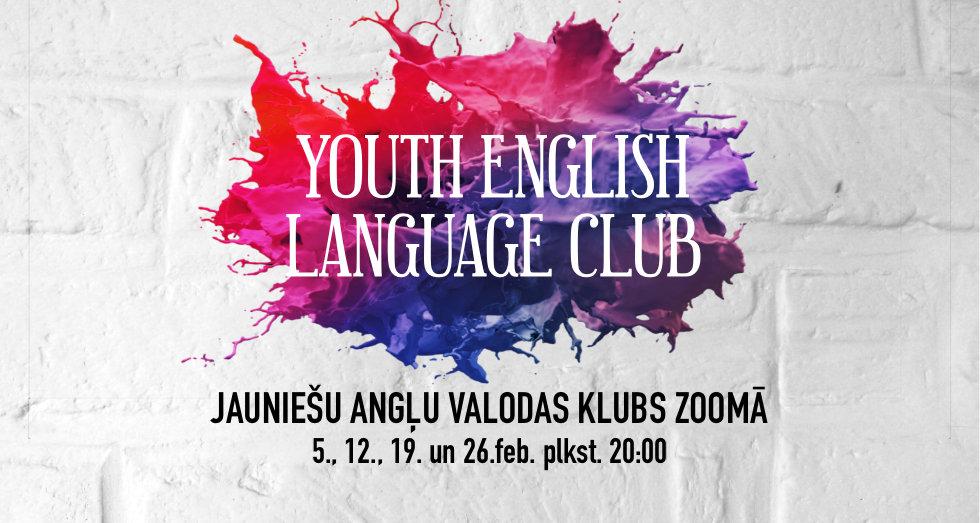 Angļu valoda klubs jauniešiem ar datumie