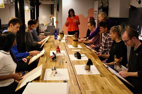 Apricity London corporate art class