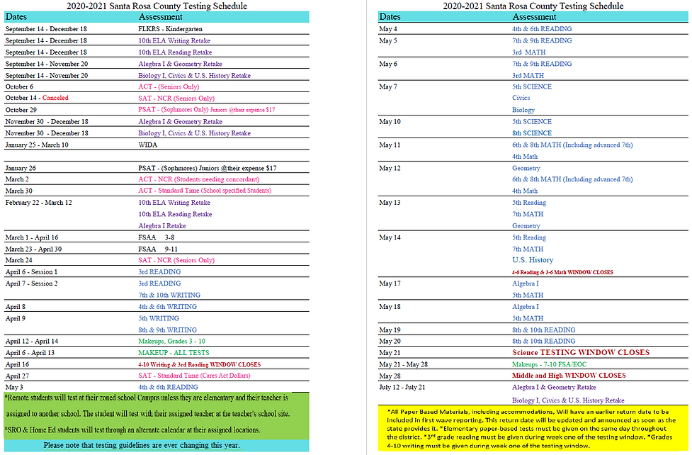 2020-2021 Testing Schedule.PNG