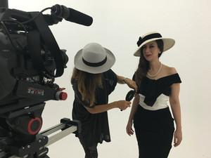 Dani Milano - behind the scenes