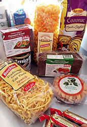 International Delicacies Products Selection German Pasta