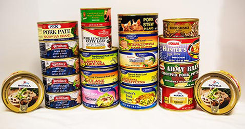 Canned Meats International Delicacies Products