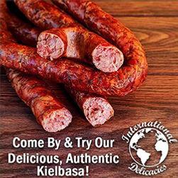 Kielbasa Sausage Fresh International Delicacies Products