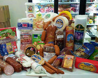 Meats and Cheeses International Delicacies Products