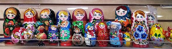 Russian Matryosha Dolls Souvenirs International Delicacies Products