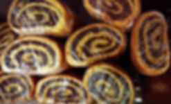 Poppyseed Rolls International Delicacies Pastries Products