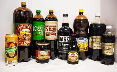 Kvas Drinks International Delicacies Products