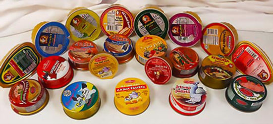 Canned Pates International Delicacies Products