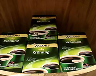 Jacobs Kronung Coffee International Delicacies Products