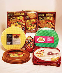 Cake Layers and Wafer Sheets International Delicacies Products