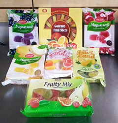 Fruit Jellies Sweets International Delicacies Products