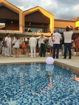 Flower Power Party in Cap Vermell Country Club
