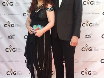 Cena de Gala en Park Hyatt con la asistencia de famosos, modelos y presentadores.