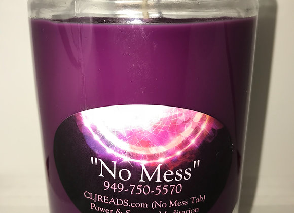 #NoMess Meditation Candle