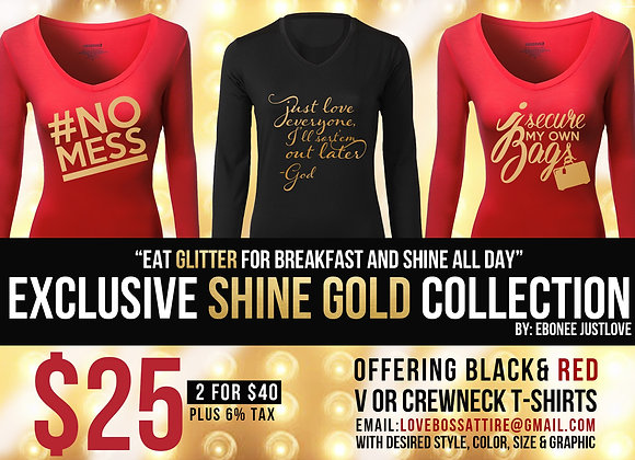 Justlove Shine Gold Collection