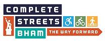Complete Streets Birmingham Logo