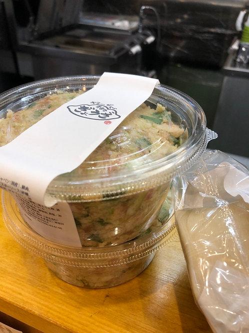 手巻き餃子セット/皮50枚+餡2パック(にんにくあり)