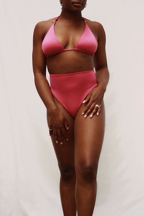 Michaela Pant in Exuberant Pink
