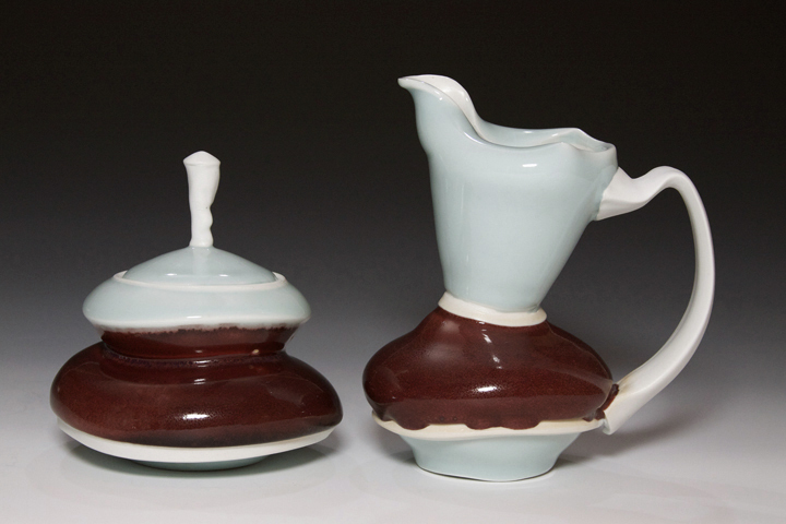 cream sugar set